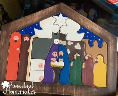 Arts of the Heart wooden nativity puzzle