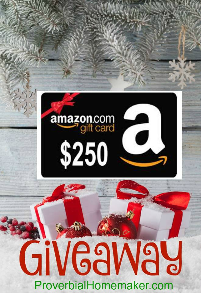 Christmas Giveaway Flyer.Christmas Giveaway 250 Amazon Gift Card Proverbial