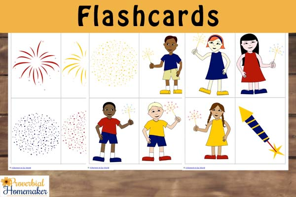 Fireworks Flashcards