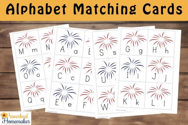Fireworks Pack Alphabet