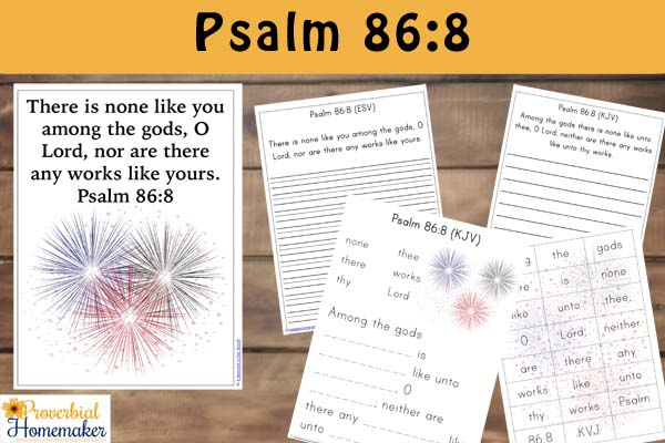 Fireworks Pack Psalm 868