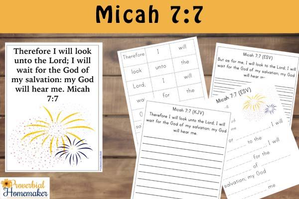 Fireworks Printable Micah 77