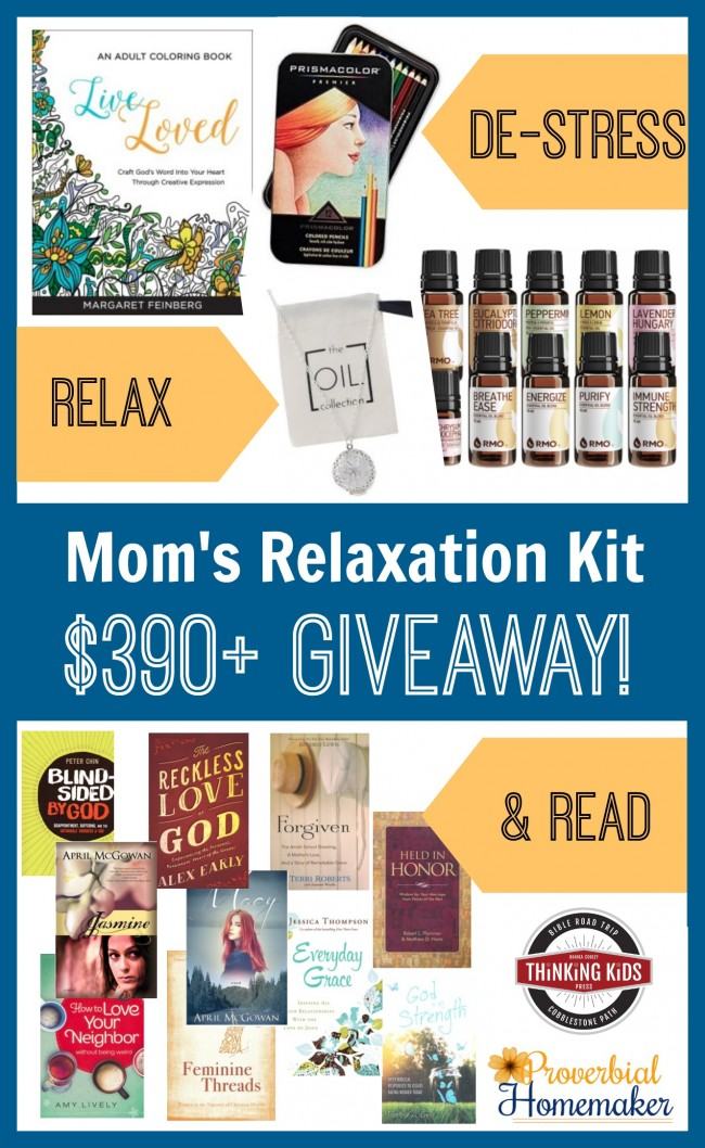 $390+ in prizes to bless a mom this holiday season!