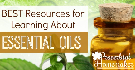 This is a fantastic list of books and web sites! Great resources for learning about essential oils.
