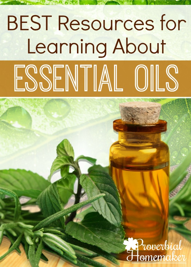 The best resources for learning about essential oils proverbial