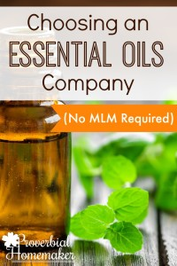 Such a helpful list! Great tips on choosing an essential oils company.