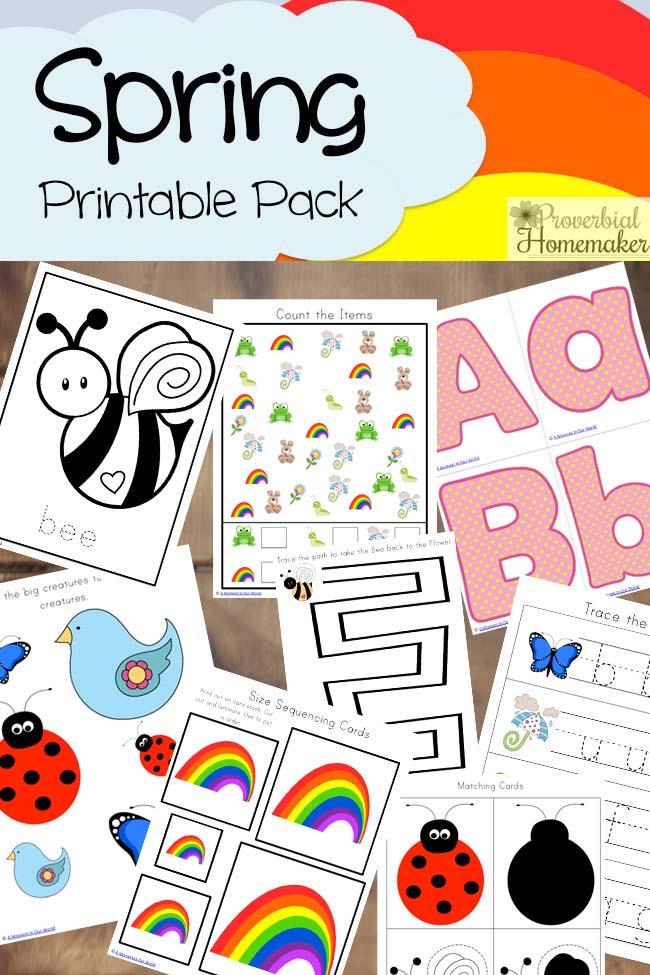 Spring Printable Pack 7