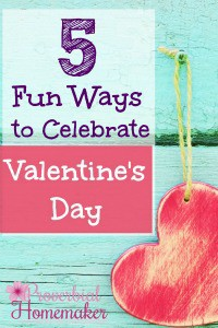 Five Ways to Celebrate Valentine's Day SM