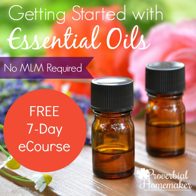 Getting Started with Essential Oils (No MLM Required) - This course works for everyone and is a fantastic quick start guide to using oils. And it's FREE!
