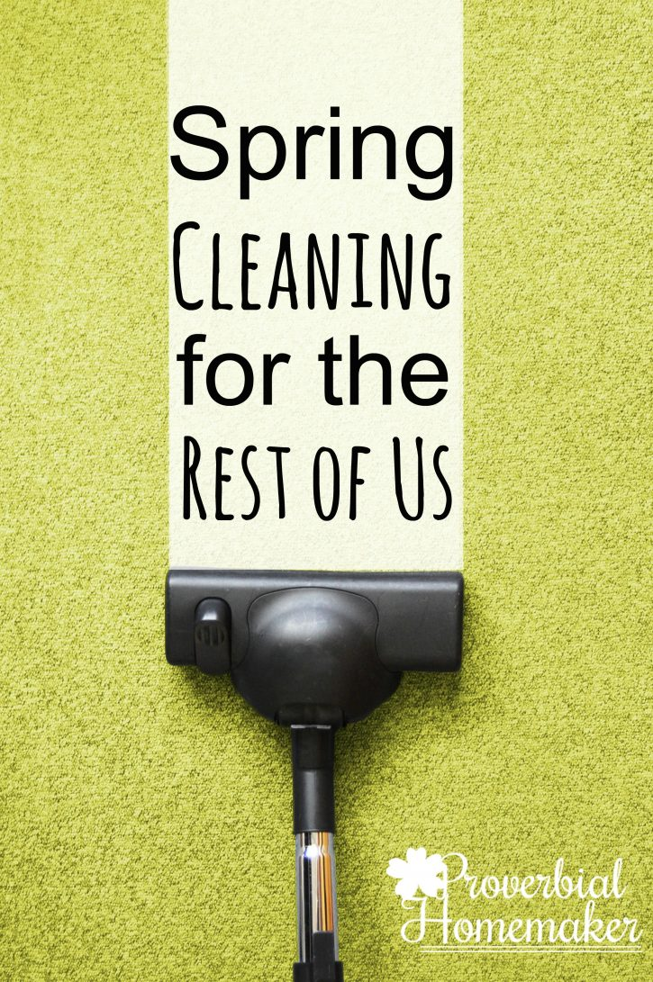Don't let spring cleaning intimidate you! Join us for the 6-week spring clean and declutter challenge - great accountability and a free spring cleaning checklist printable!