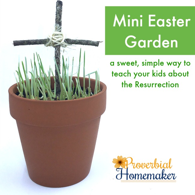 Mini Easter Garden: An Easy & Meaningful Tradition
