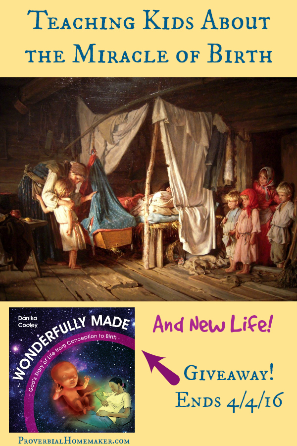 Teaching Kids About the Miracle of Birth - Wonderfully Made by Danika Cooley