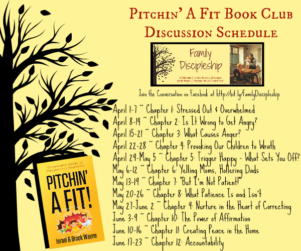 Join us for the Pitchin a Fit book study in the Family Discipleship Facebook Group!