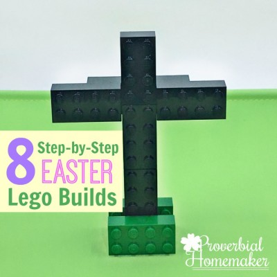 8 Step-by-Step Easter Lego Builds (Free Download)