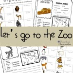 Let's Go To The Zoo Printable Pack