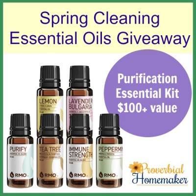 Spring Cleaning Essential Oils Giveaway