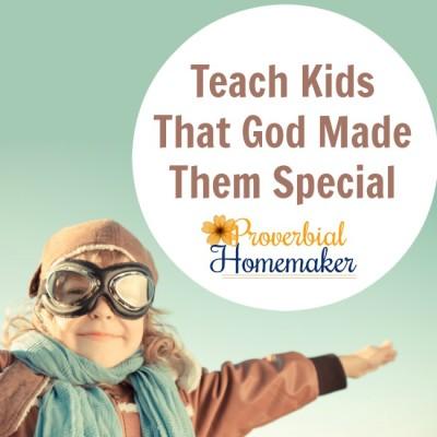 Teach Kids God Made Them Special (+ Printable Pack)