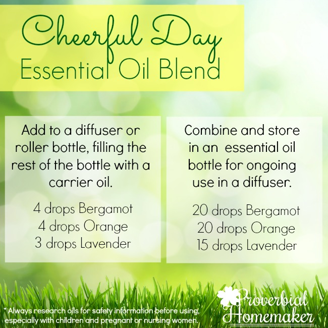 This simple recipe helps you have a cheerful day!