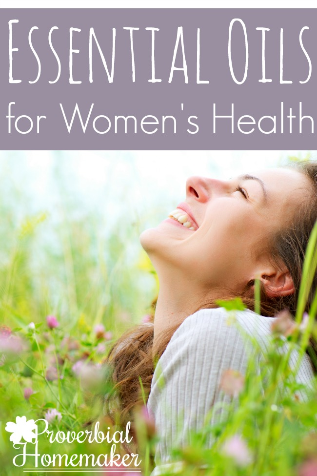 Great tips and recipes for using essential oils for women's health!
