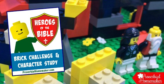 Heroes of the Bible Lego Challenge and Character Study