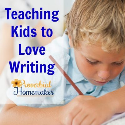 Teaching Kids to Love Writing