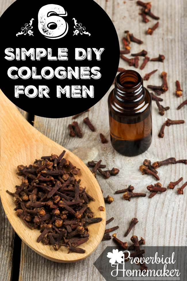 6 Simple DIY Colognes for Men
