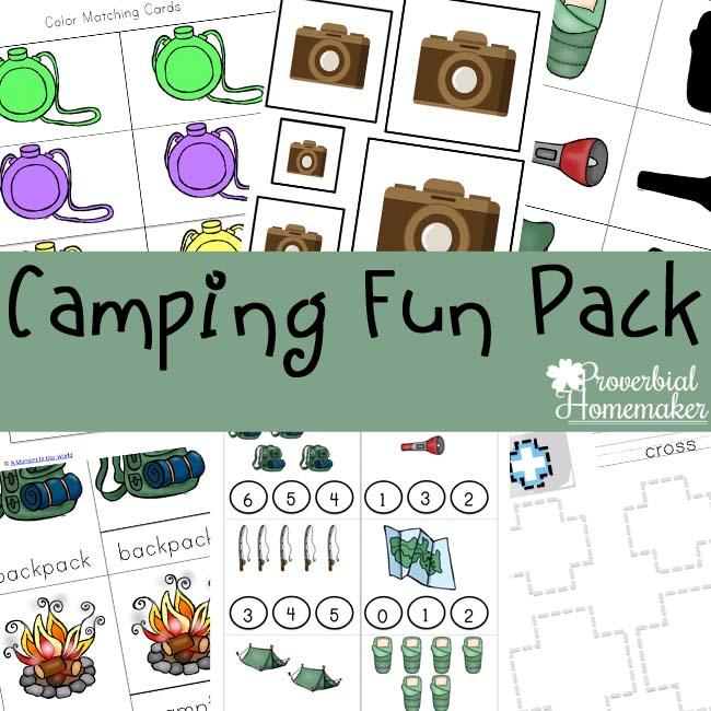 Camping Fun Pack