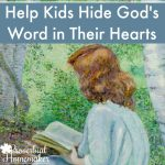 Help Your Kids Memorize Scripture