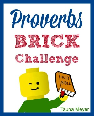 Kids learn the Proverbs while playing with bricks! Includes challenges, copywork, discussion questions and notebooking pages.