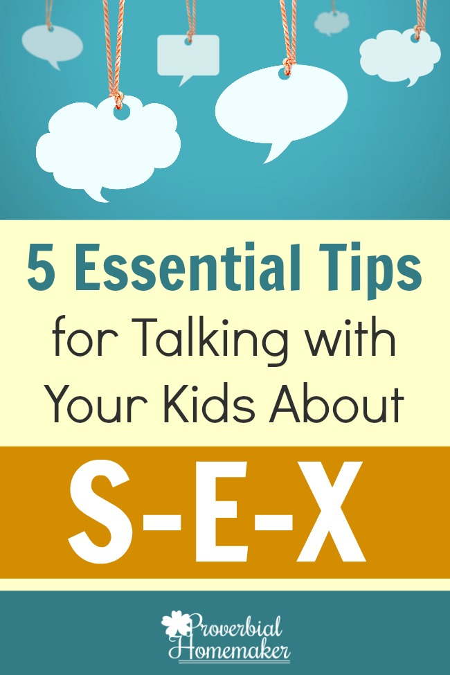 Be equipped with these biblical tools for talking with your kids about sex