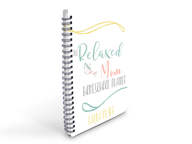 Relaxed Mom Homeschool Planner & eCourse - A planning system for the type B homeschooler!