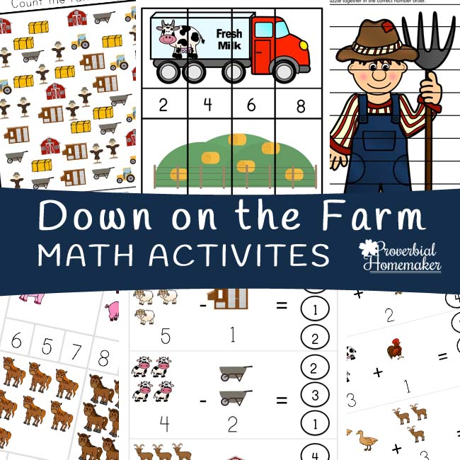 Down on the Farm Math