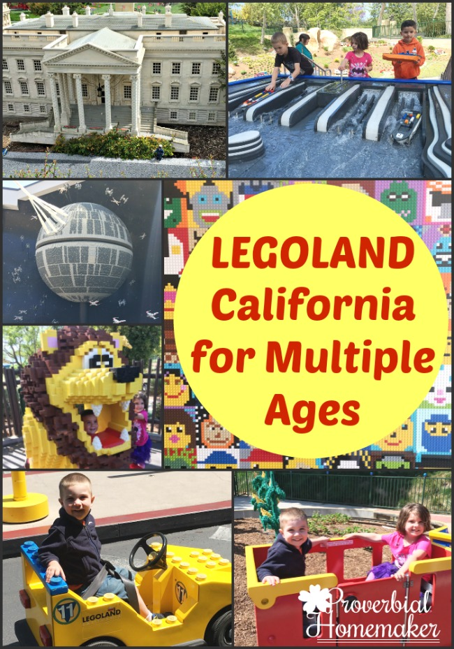 LEGOLAND for multiple ages - something for everyone in the family!