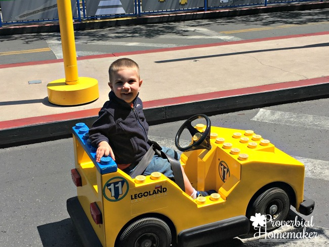 Driving ride at Lego Land California (LEGOLAND for Multiple Ages)