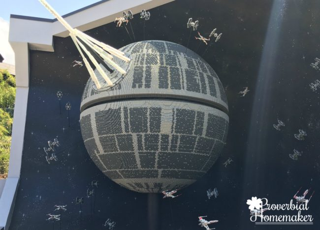 Love the Star Wars displays at Lego Land California (LEGOLAND for Multiple Ages)