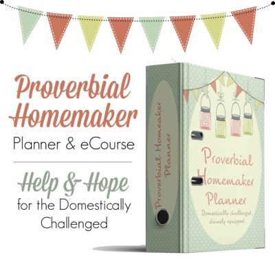 Homemaking Planner Designed Just for You!