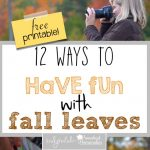 12 Ways to Have Fun with Fall Leaves