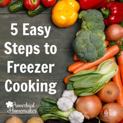 5 Steps to Get Started With Freezer Cooking