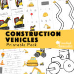 Construction Vehicles Printable Pack