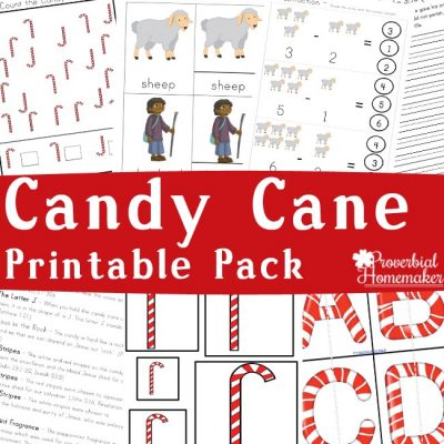 Candy Cane Printable Pack