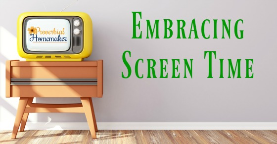 Tips and encouragement for handling your kids' screen time in a godly way and using great resources like JellyTelly!