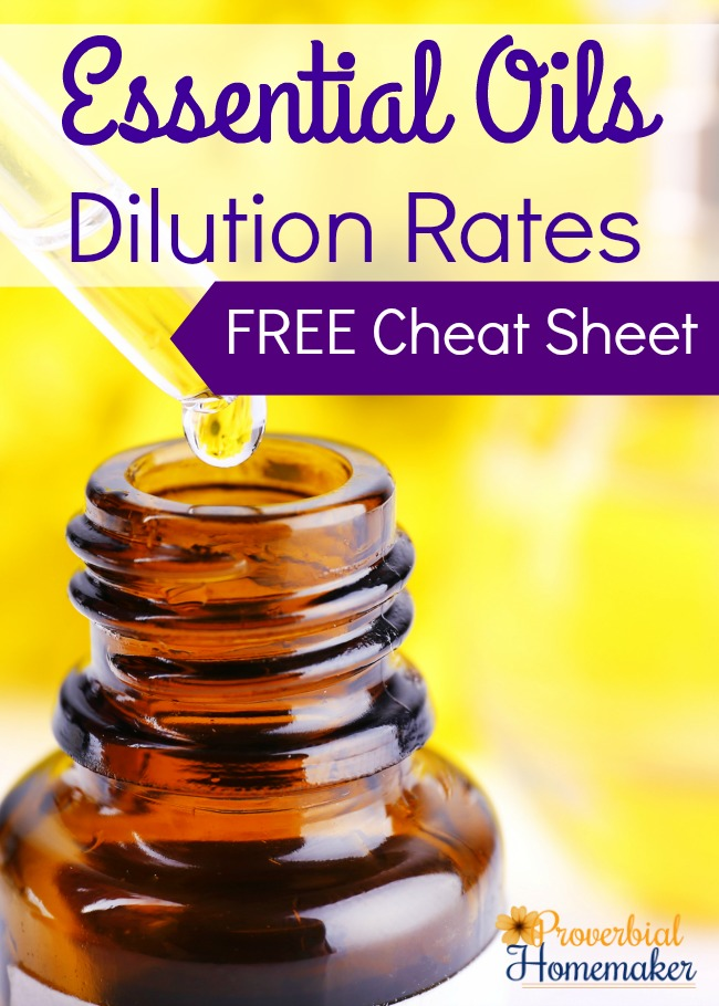 image about Essential Oils Chart Printable identify Necessary Oils Dilution Prices (Cost-free Printable) - Proverbial