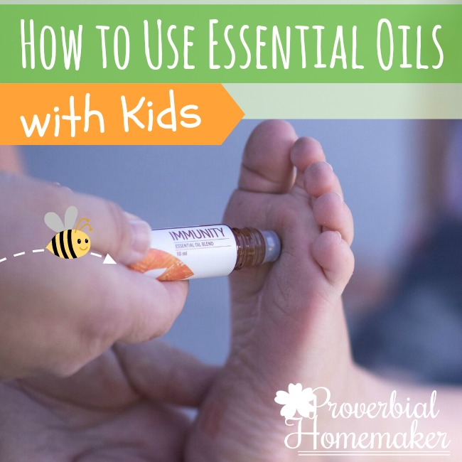 Using Essential Oils With Kids - Tips for safety and easy use!