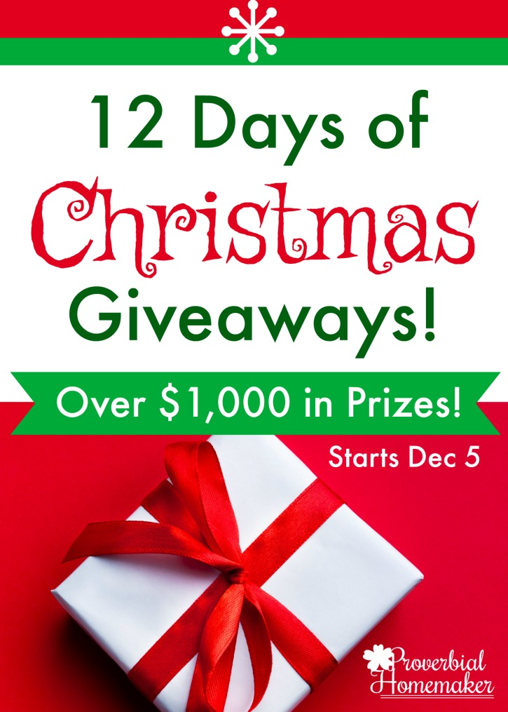 12 days of christmas giveaways - 10 Days Of Christmas