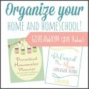 Balance for the Busy Homeschool Mom (+ Planner Bundle FLASH Giveaway!)