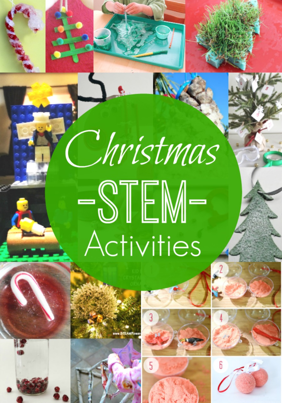 Christmas STEM activities for a fun and hands-on Christmas experience!
