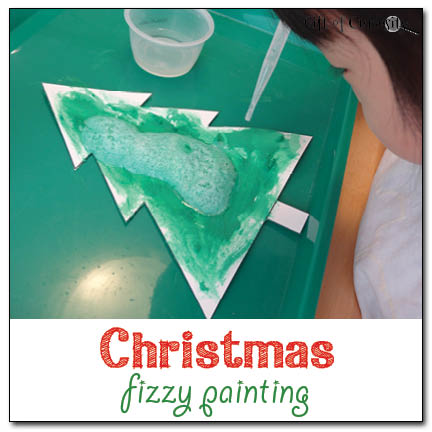 Christmas Fizzy Painting