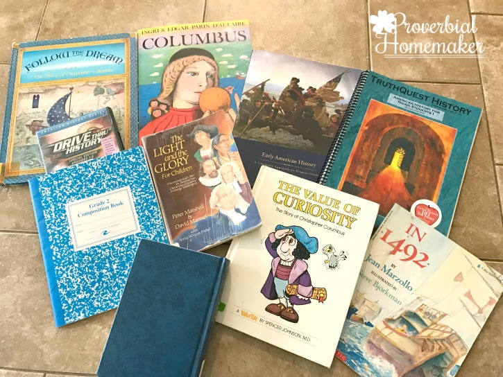 Simple Columbus Unit Study Books and Resources