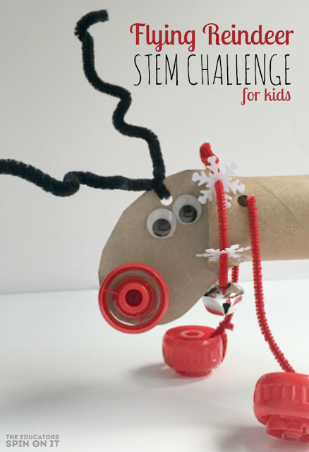 Reindeer STEM Challenge for Christmas