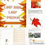 Leaf Man Unit Study (+ FREE Printable!)